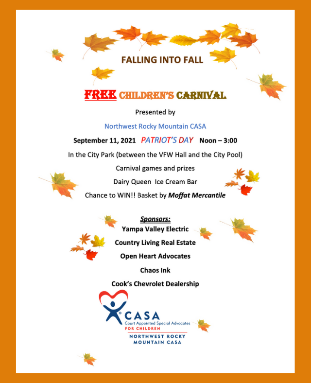 Falling Into Fall FREE Children's Carnival